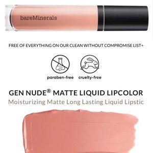 🆕💄 Gen Nude Matte Liquid Lipcolor
